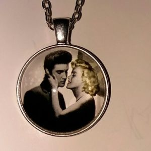 Jewelry - Marilyn Monroe and Elvis Presley Necklace